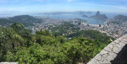 View of Rio de Janeiro from Cristo Redentor